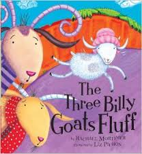 The Three Billy Goats Fluff Book Cover