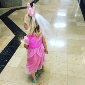 Princess Walking