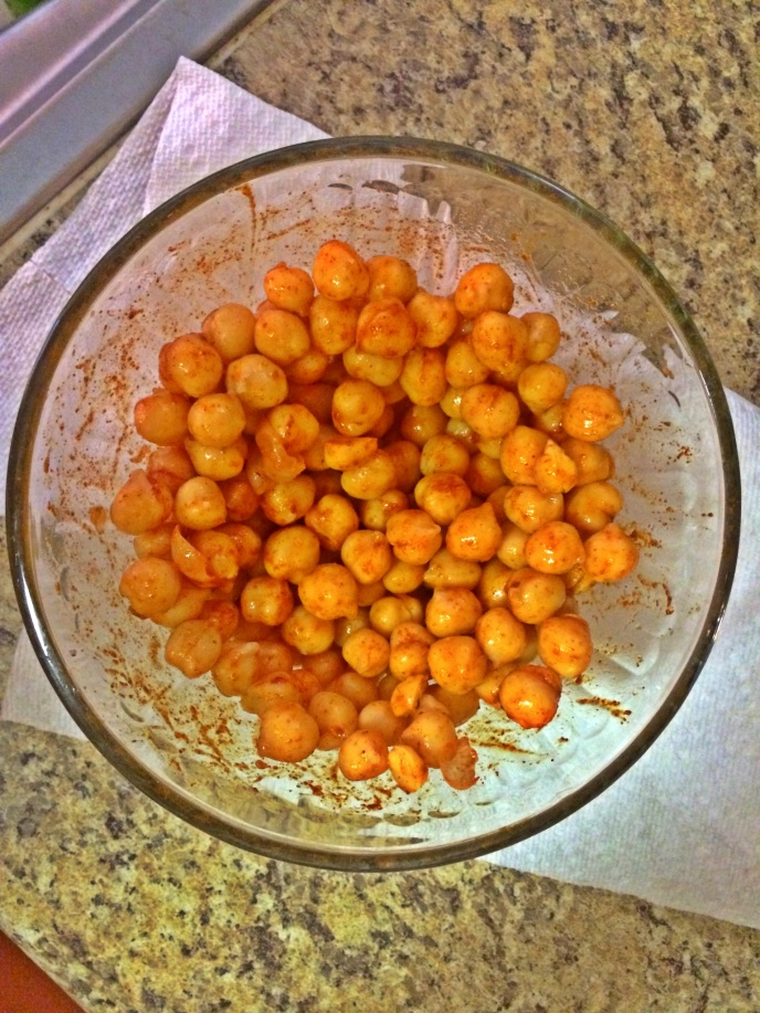 chickpeas in paprika